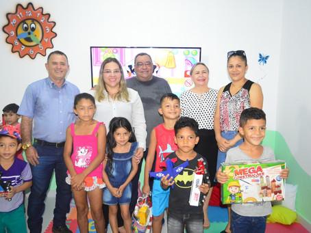 Prefeitura inaugura Brinquedoteca no Centro de Referência de Assistência Social (CRAS)