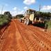 Ramal do Alcides recebe serviço de terraplanagem por parte da Prefeitura Municipal