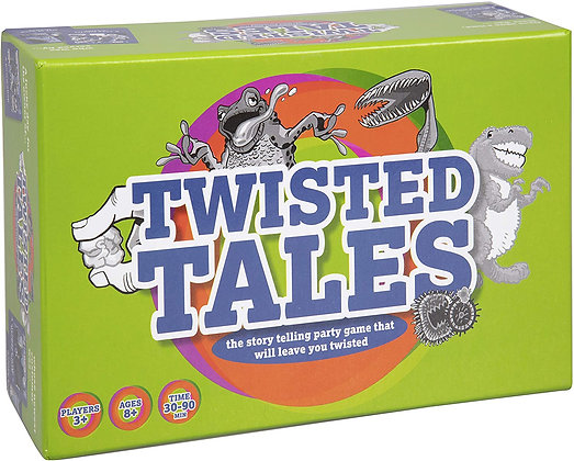 Twisted Tales - (175 Original Artwork Story Cards, 50 Voting Cards)