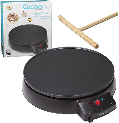"Crepe Maker and Non-Stick 12"" Griddle"