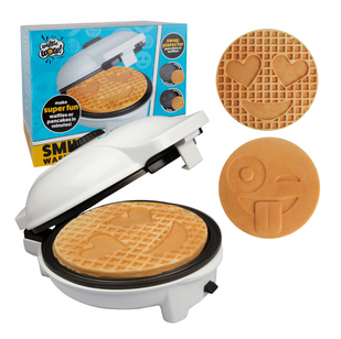SMILEY FACE WAFFLE MAKER