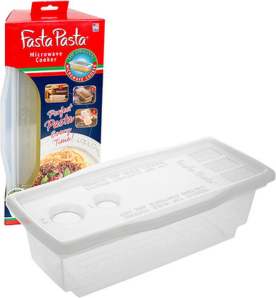 Microwave Pasta Cooker - The Original Fasta Pasta - No Mess, Sticking or Waiting