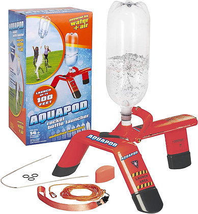 AquaPod Water Bottle Rocket Launcher Science Kit- STEM Toy Launches Soda Bottles