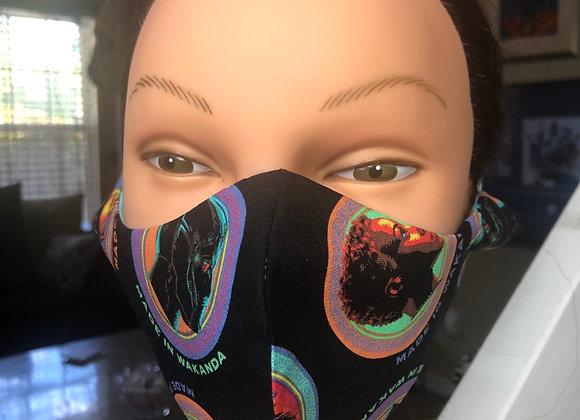 Kid SIZE Wakanda Swag Mask