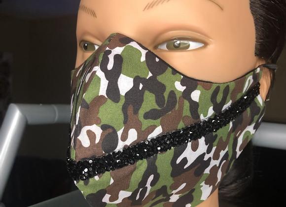 Crystal Camo Swag Mask