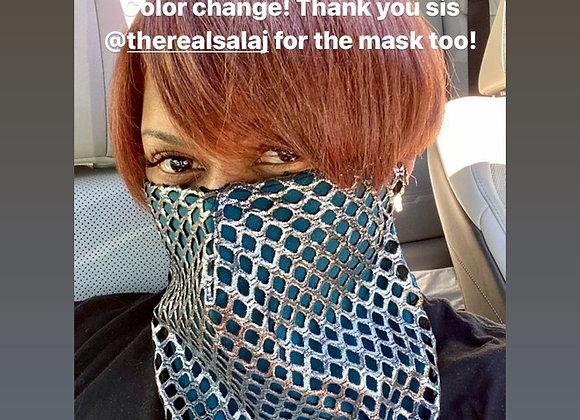 Metallic Swag Mask