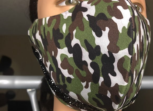 Crystal Camo Swag Mask