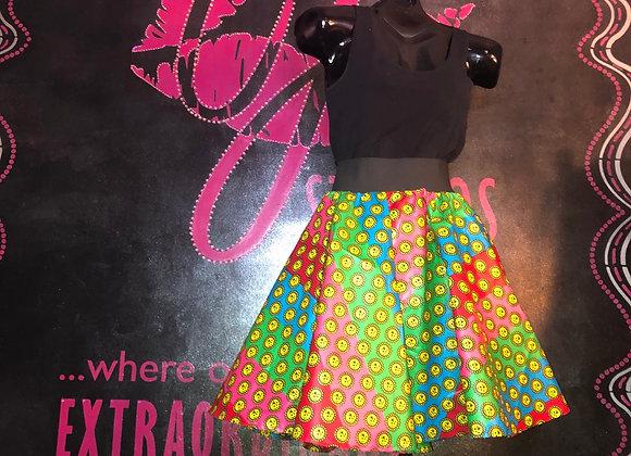 Mini Circle Skirt W/pockets