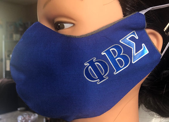 Phi Beta Sigma Swag Mask