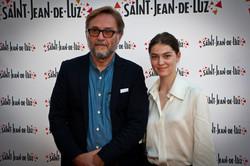 Marc Dugian et Anamaria Vartolomei