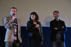 L'équipe du film Sparring