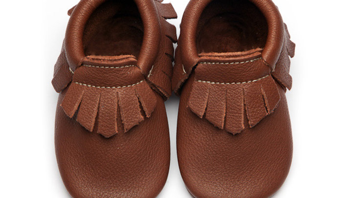 Wolfie & Willow Coco Eco Leather Moccasins