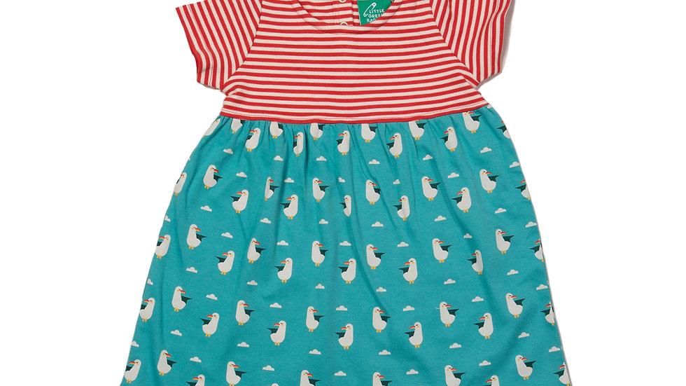 Little Green Radicals Seagull Easy Peasy Dress