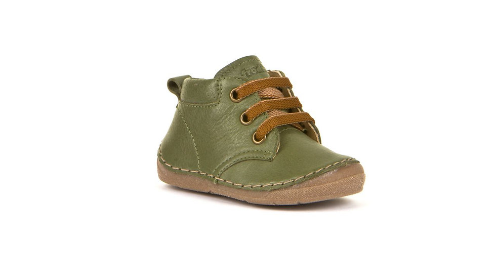 Froddo First Walker Olive Lace Up Boot