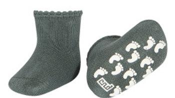 Condor Lichen Green  Non Slip Terry Cotton Socks