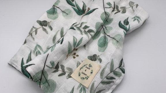 Eucalyptus Organic Cotton Muslin Swaddle