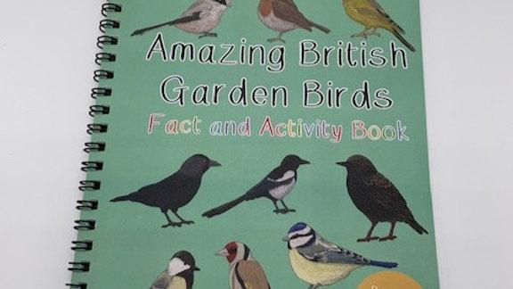 British Birds Fact and Activity Book
