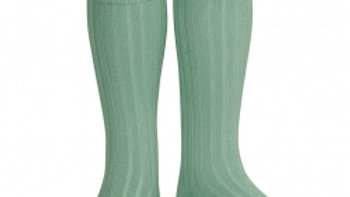 Condor Sage Knee High Cotton Rib Socks