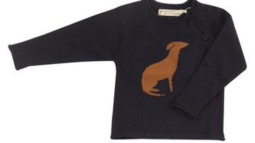 Navy Organic Cotton Jumper