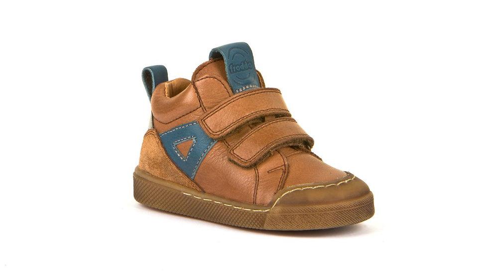 Froddo Leather Hi Top Sneaker Tan