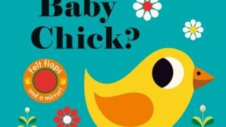 Where Is Baby Chick Felt Flap Book