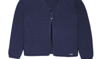 Condor Marino Navy  Cotton Cardigan