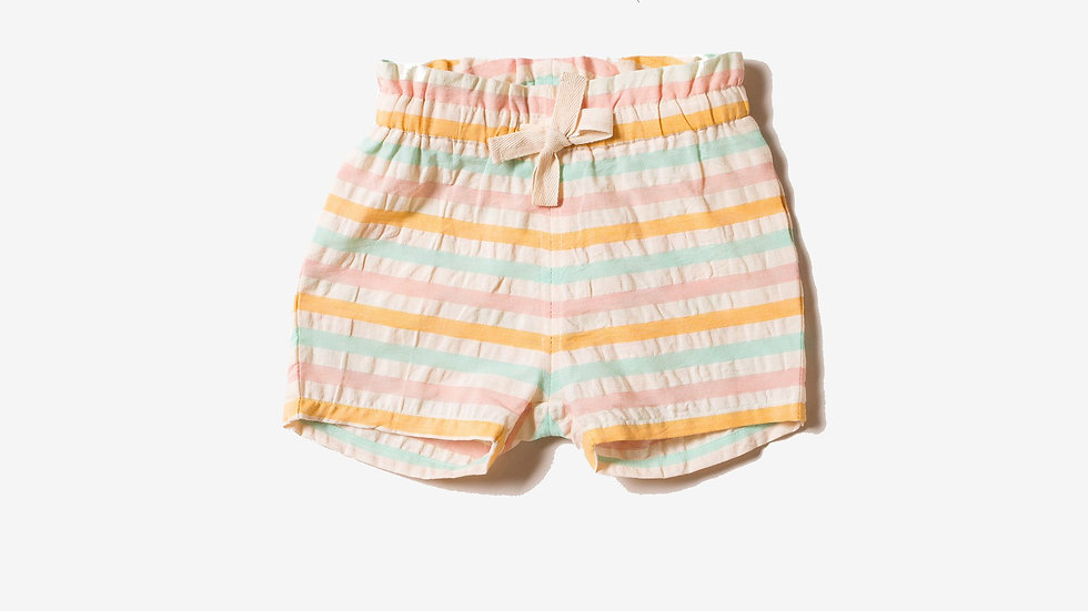 Little Green Radicals Candy Stripe Shorts