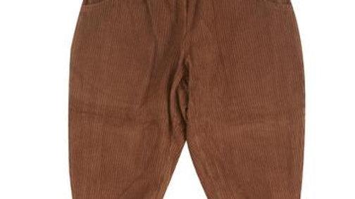 Pigeon Organics Lined Brown Corduroy Trousers
