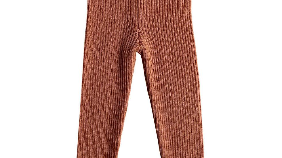 Mabli Sylfaen rib knitted leggings