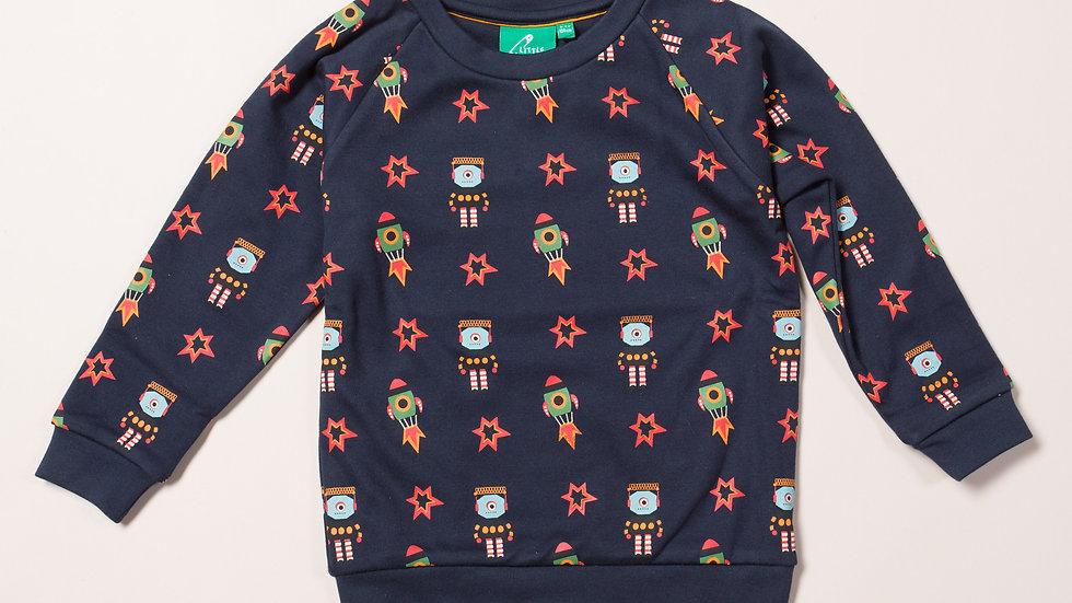 Little Green Radicals Rockets and Space Sweatshirt