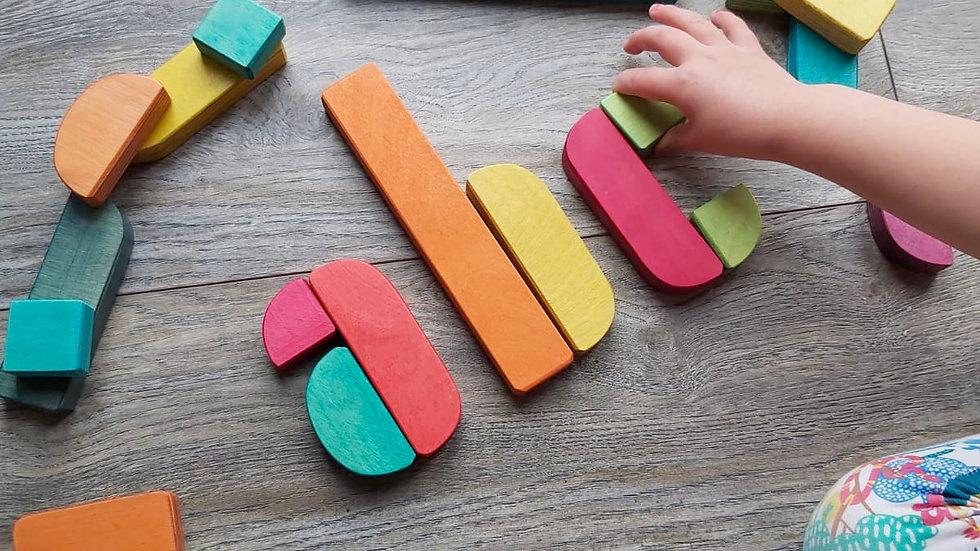Hellion Wooden Type Blocks Starter Set