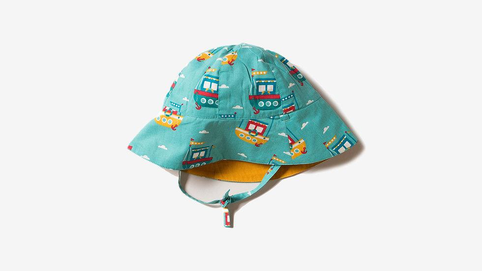 Little Green Radicals Reversible Sun Hat