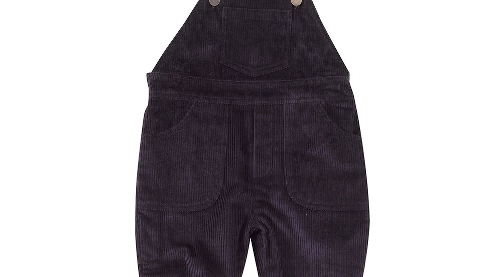 Pigeon Organics Lined Navy Cord Dungarees