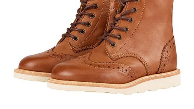 Young Soles of London Sidney Lace Up Boot