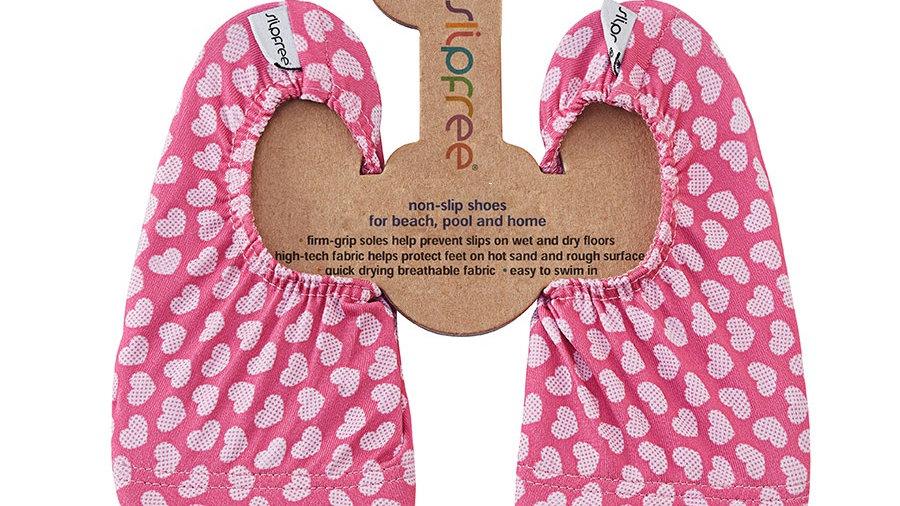Slip Free Hearts Beach Shoes