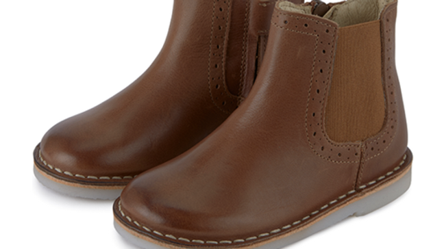 Young Soles Marlowe Burnished Tan Chelsea Boot