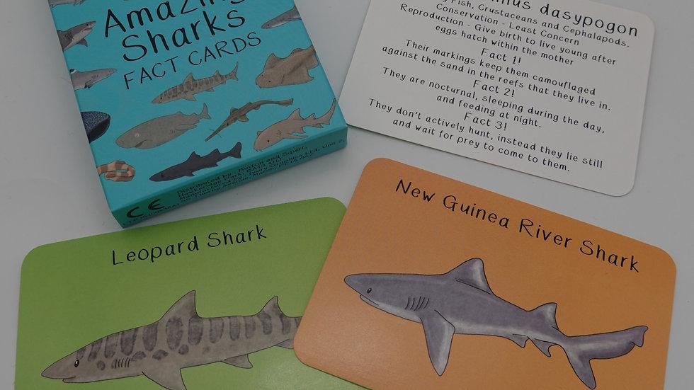 Amazing Sharks Cards