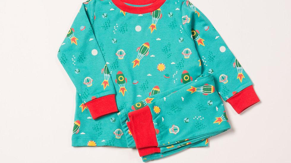 Little Green Radicals Space Pyjamas