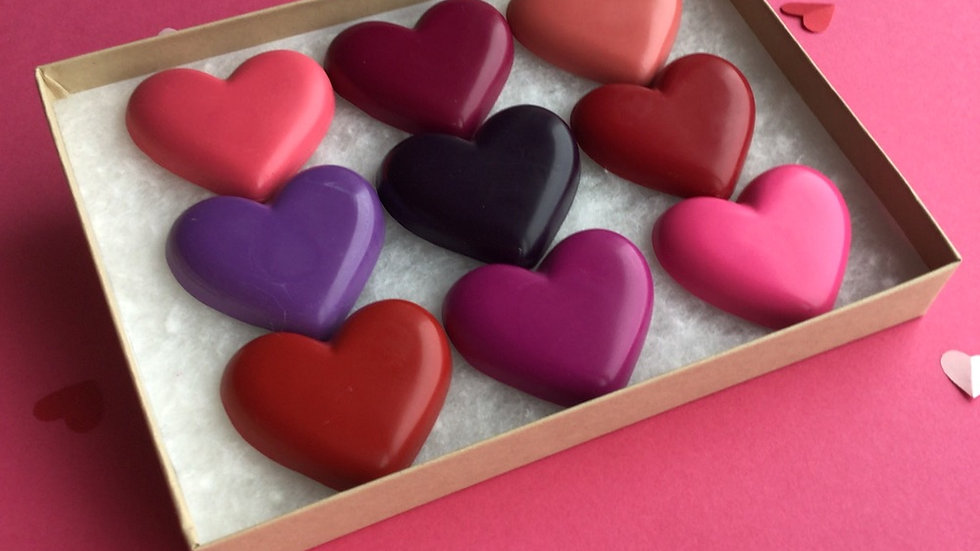 Love Heart Crayons