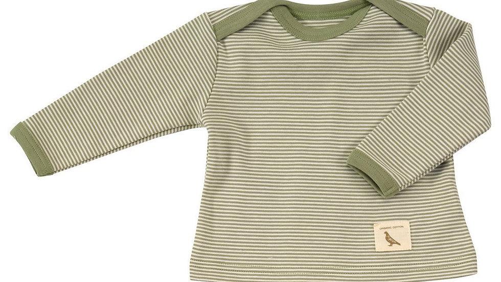 Long Sleeve Organic Cotton  Stripe Top