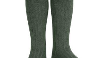 Condor Amazonia Knee High Cotton Rib Socks