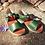 Thumbnail: Young Soles of London Pea Green Mavis Sandal