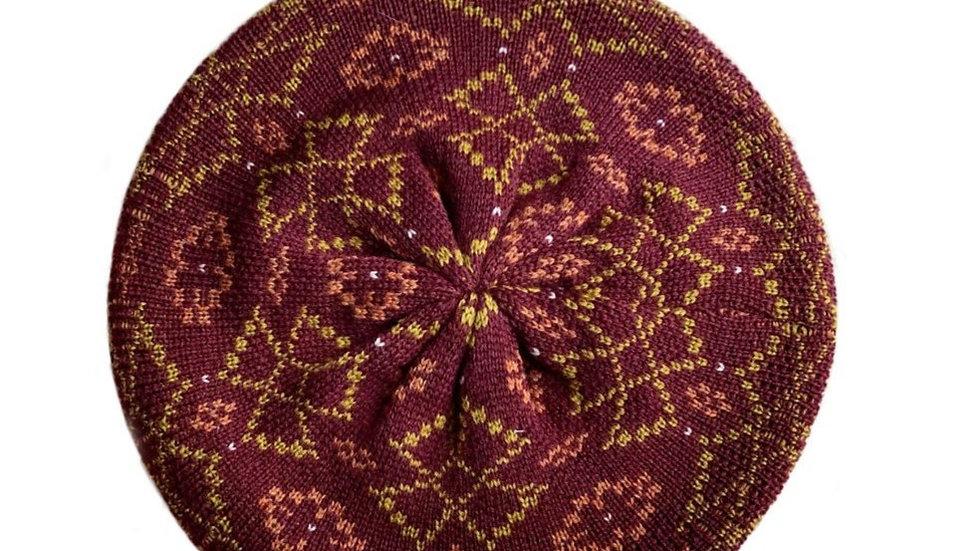 Mabli Brecon Berry Tam Hat