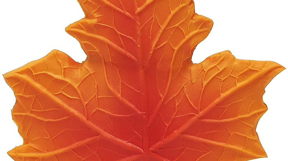 Maple Leaf Rubber Teether