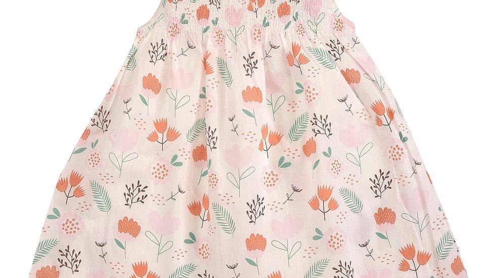 Pigeon Organics Sleeveless Flower Smock Dress
