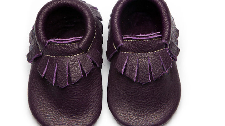 Wolfie & Willow Violet Eco Leather Moccasins