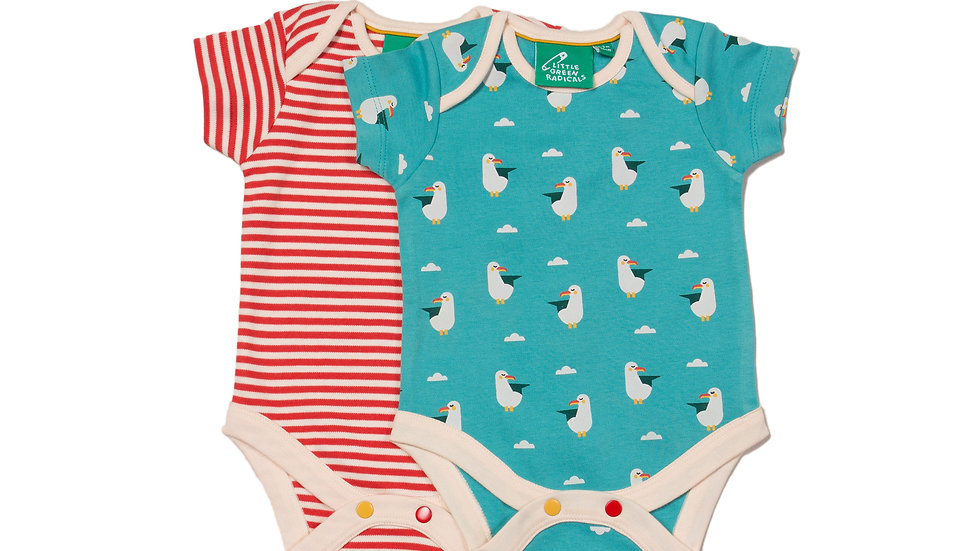 Little Green Radicals Seagull Body Set