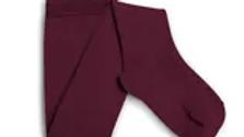 Collegien Angelique Framboise Merino Pointelle Wool Tights