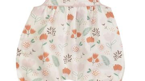 Pigeon Organics Baby Playsuit with Flowers