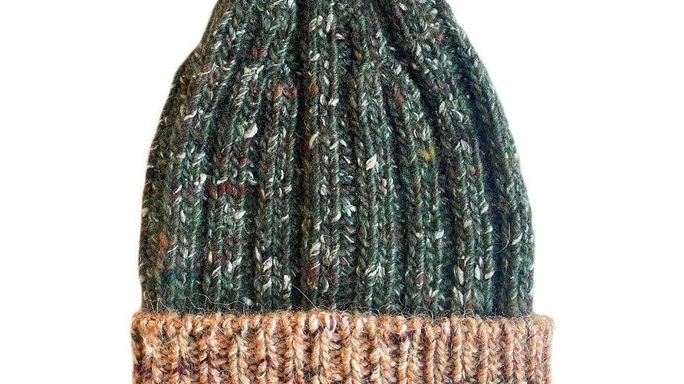 Mabli Knits Ellyllon Bracken Beanie Hat
